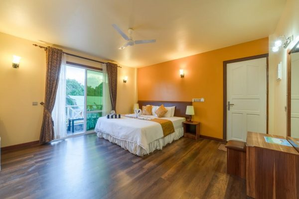 Deluxe Double or Twin Room with Balcony – Ostrov Hotel