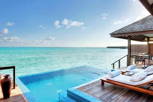 Deluxe Water Villa with Private Pool – Hideaway Beach Resort & Spa