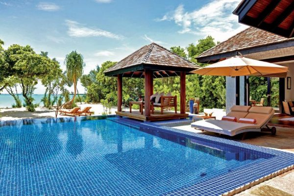 Family Two Bedroom Beach Villa with Private Pool – Hideaway Beach Resort & Spa