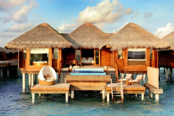 Two Bedroom Ocean Pavilion with Pool – Huvafen Fushi