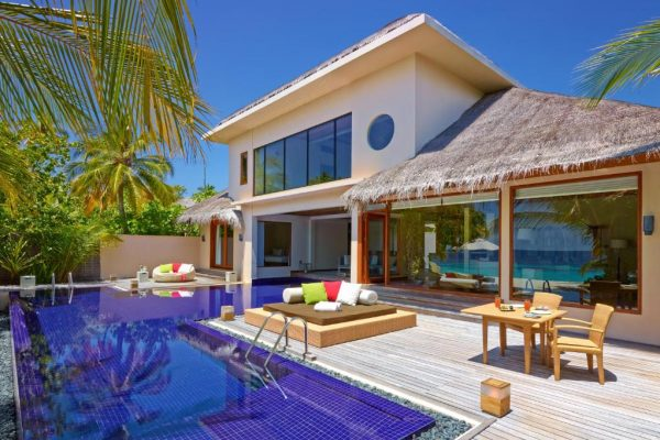 Two Bedroom Beach Pavilion with Pool – Huvafen Fushi