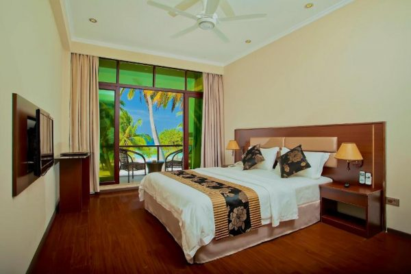 Deluxe Double Room with Balcony and Sea View- Kaani Beach Hotel